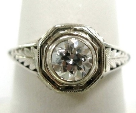 Diamond Ring Before Makeover