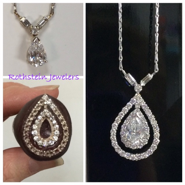Custom designed diamond necklace by Rothsteins