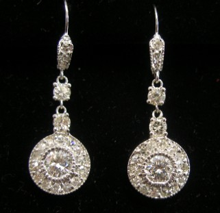 New diamond earrings designed