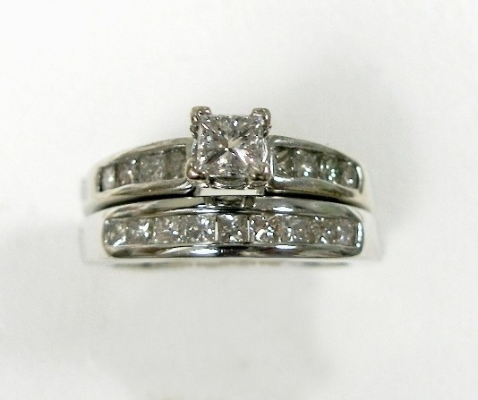 Diana diamond ring before makeover