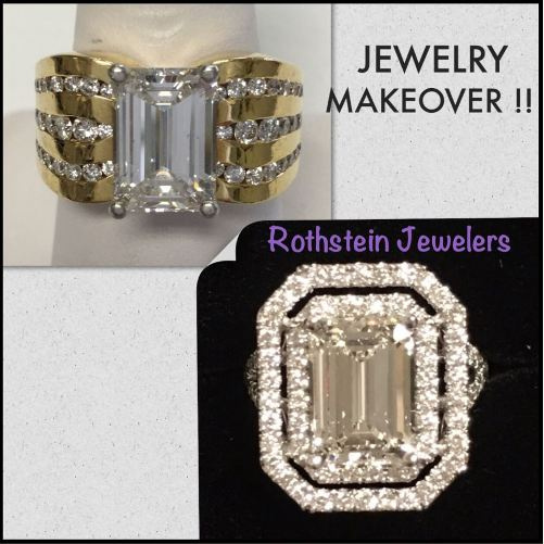 Gorgeous diamond ring makeover at Rothsteins