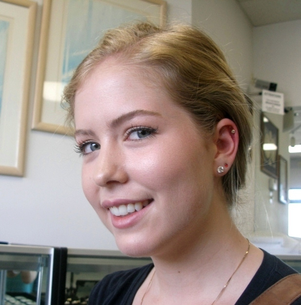 Virginias cartilage piercing