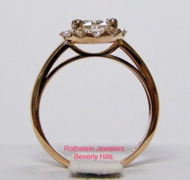 Rothstein Jewelers Rose Gold Engagement Ring