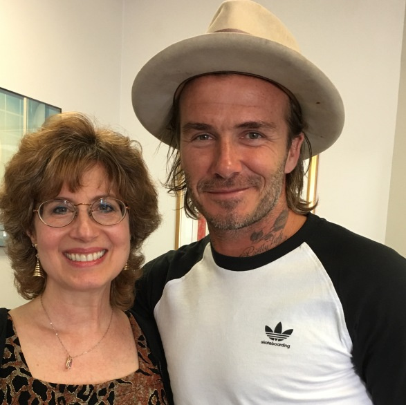 David Beckham came to Janet Rothstein for family ear piercing