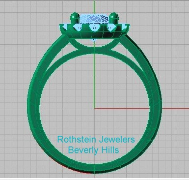 Rothstein Jewelers Computer Design Engagement Ring